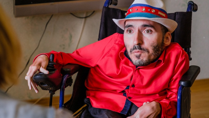 Автор блога «Секс и инвалидность» Вреж Киракосян переехал в Пермь