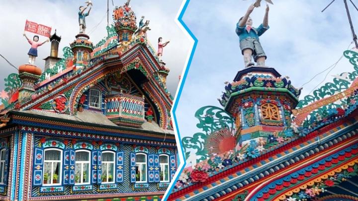 Сказочный теремок в Кунаре окончательно признают памятником архитектуры вопреки воле хозяев