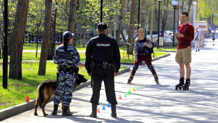 В новосибирских парках появились наряды полиции