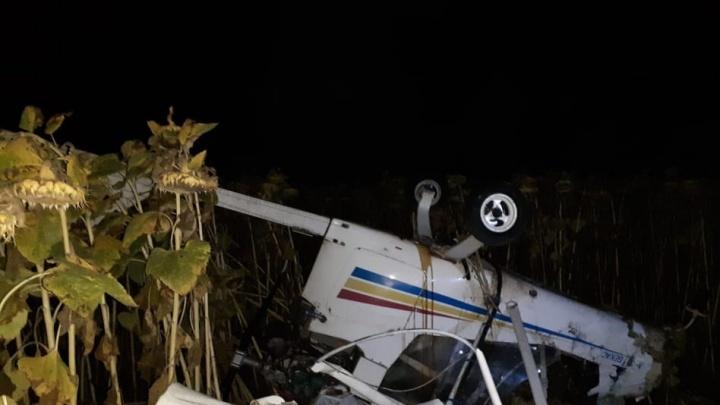 В Тамбовской области разбился легкомоторный самолет из Волгограда