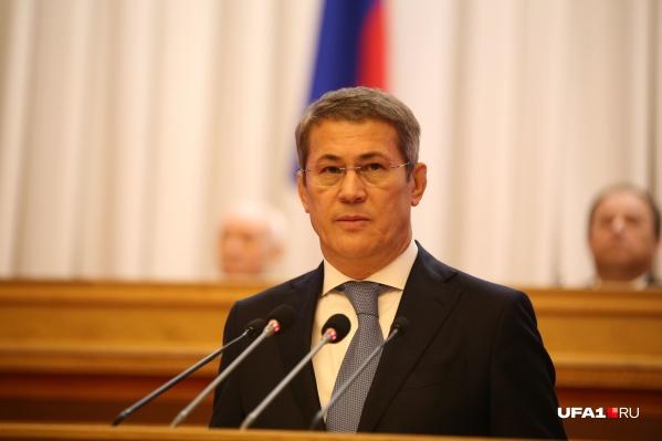 Глава республики рассказал о том, как встретят награду в Уфе