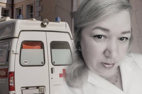 Елена Владина отработала в 11-й больнице больше 20 лет