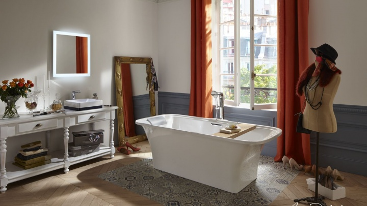 Ванная мечты: как сделать идеальный ремонт с парижским шиком и купаться в роскоши