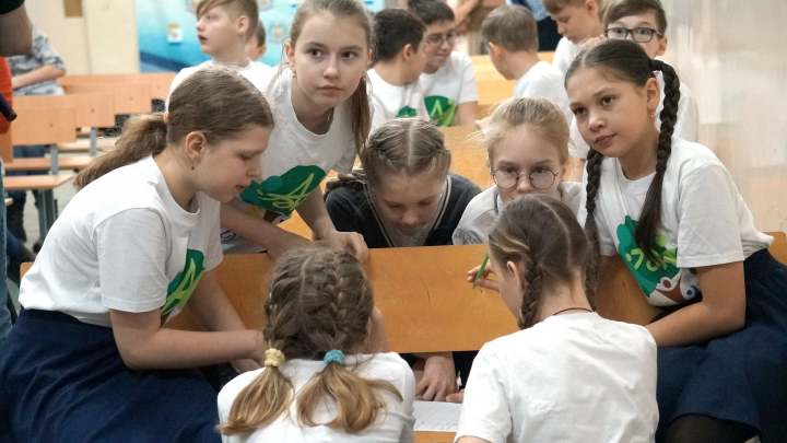 Планетянин или лесмен: лесопромышленники и экоактивисты провели игру для детей Новодвинска