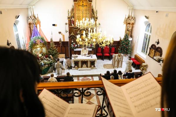 Католики отметили один из главных религиозных праздников