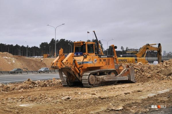 Новая дорога будет четыре с половиной километра в длину