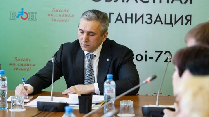 После голодовки инвалидов в Тюмени Александр Моор предложил депутатам поднять имущественный ценз