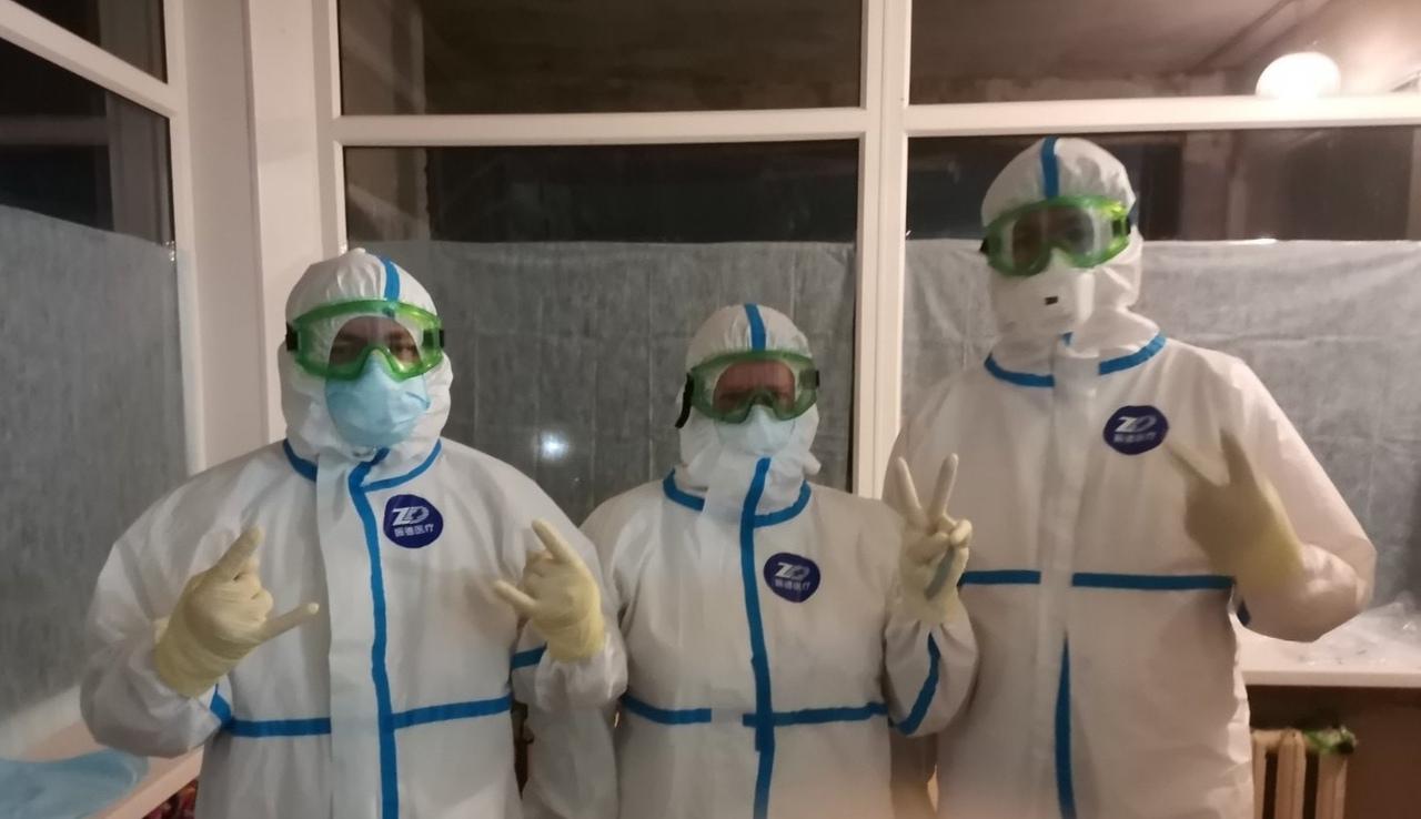 Эти медики оказались на передовой борьбы с коронавирусом в Миассе