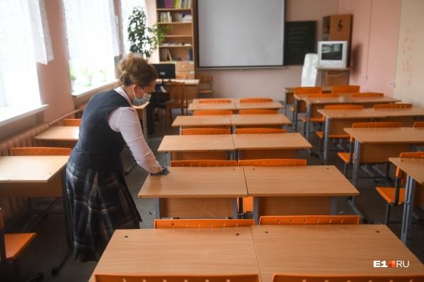 Очно в школах продолжат учиться только 1–5-е классы