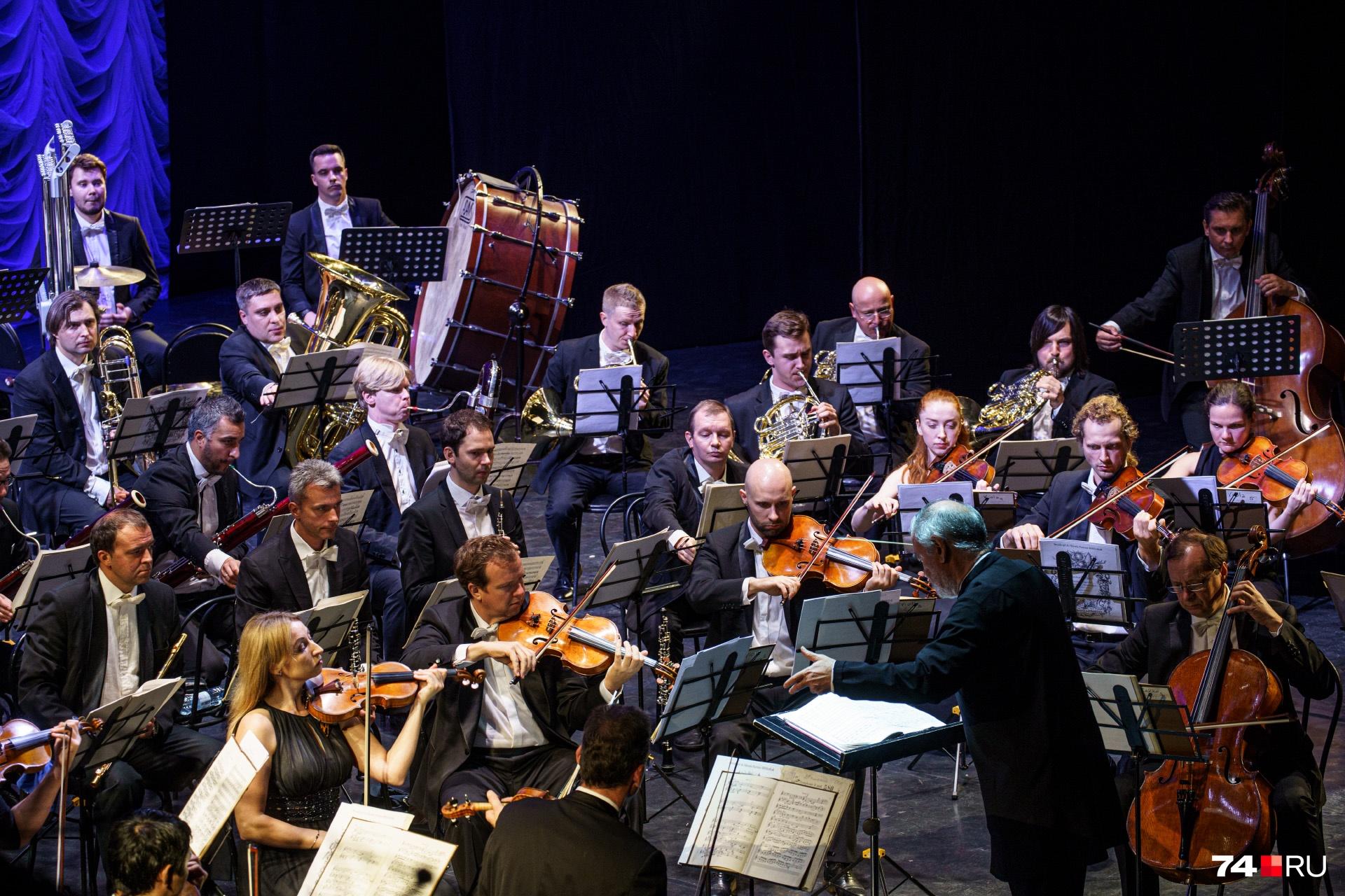 За день Симфонический оркестр Мариинского театра дал два концерта