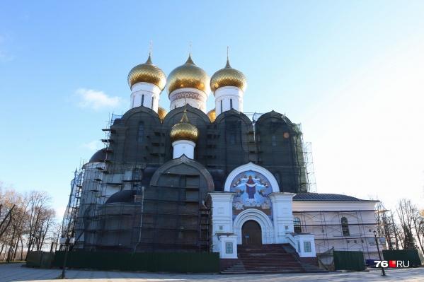 Так выглядит сейчас Успенский собор в Ярославле