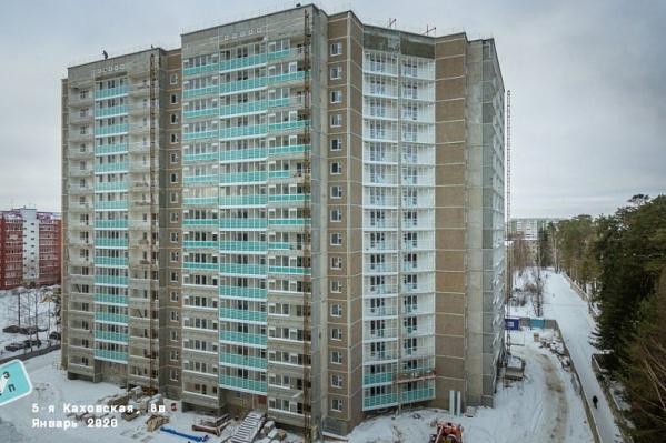Новый дом в микрорайоне Водники