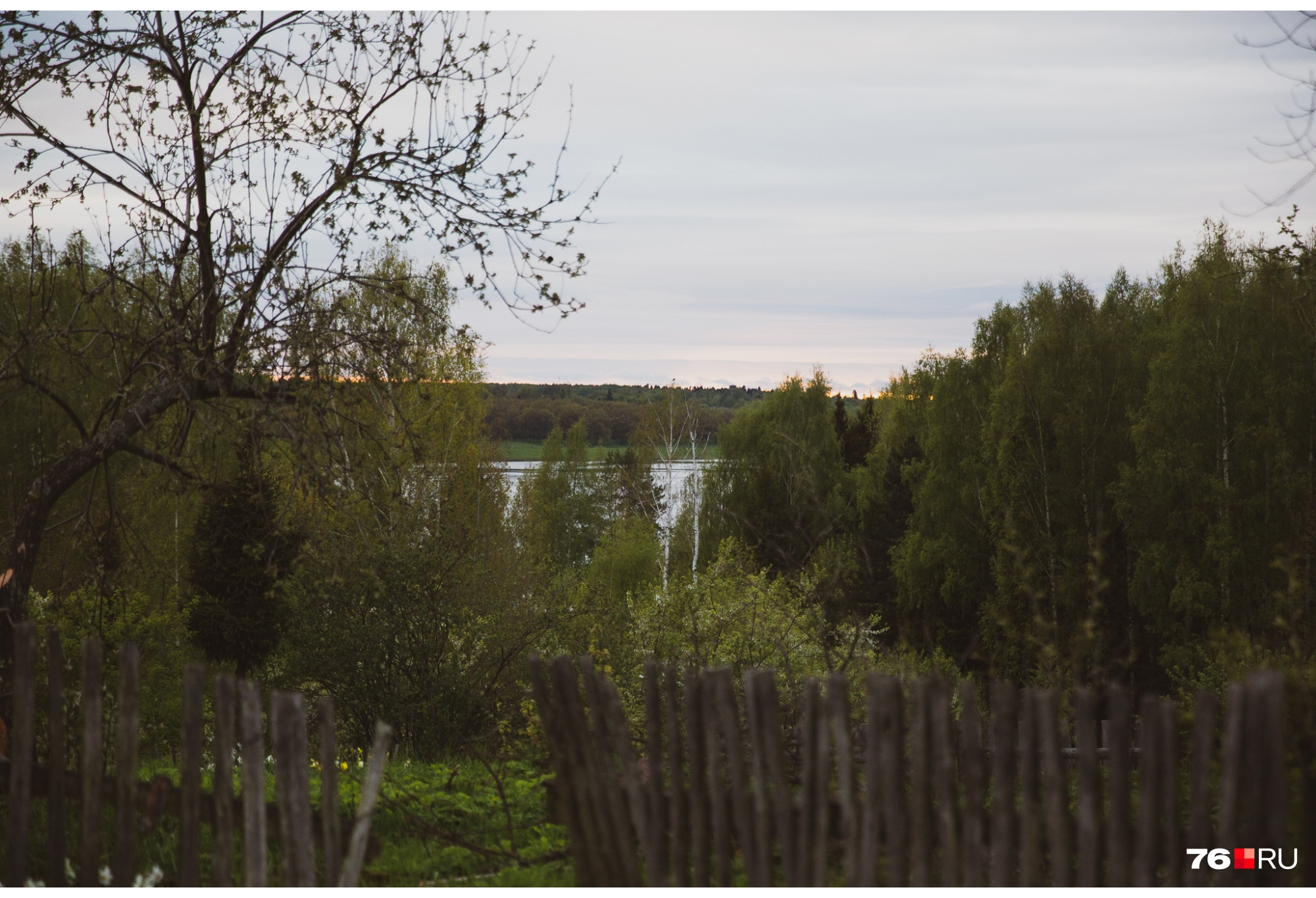 А внизу лениво течет Волга