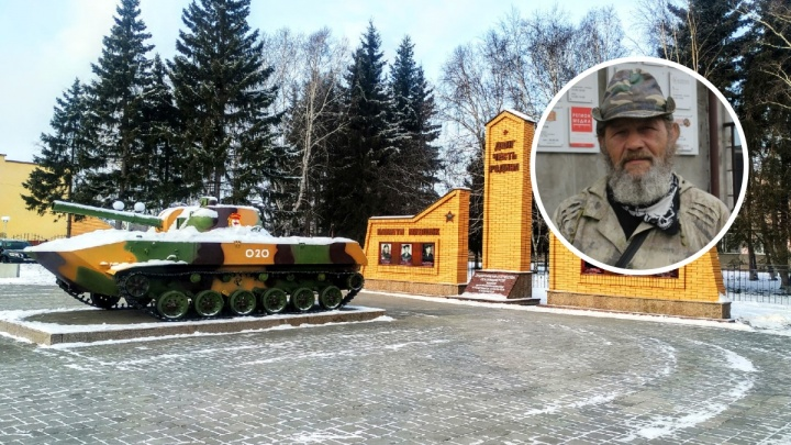 54-летний преподаватель, путешествующий по России пешком, добрался до Омской области