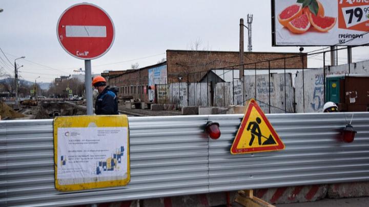 Когда завершат ремонт теплотрассы по улице Вавилова и откроют движение транспорта