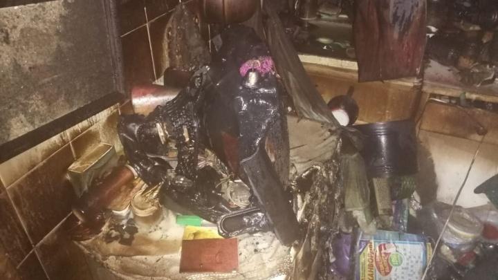 В Ярославле после пожара в квартире нашли тело женщины