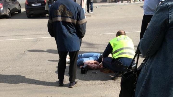 Челябинский Минздрав рассказал о состоянии девушки, сбитой мчавшейся за нарушителем машиной ДПС