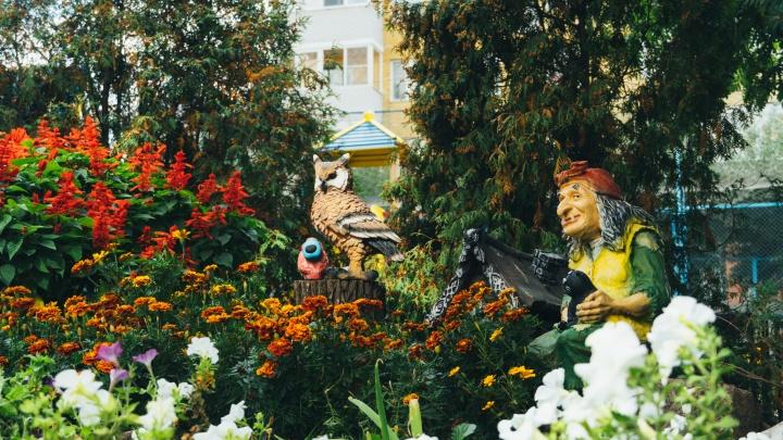 Лучшим в Омске признали двор десятиэтажки с деревней Облепиховкой