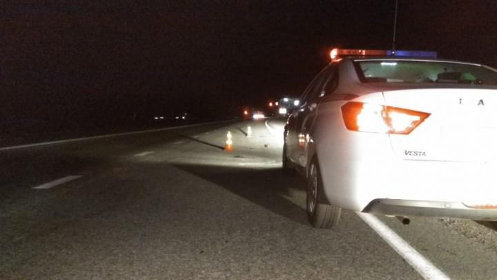 Сотрудники ГИБДД разыскивают водителя, который рядом с Заречным сбил пешехода и скрылся с места аварии