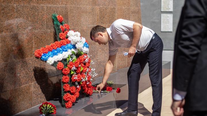 В Березовой роще реконструировали памятник воинам Великой Отечественной войны, который не обновляли 43 года