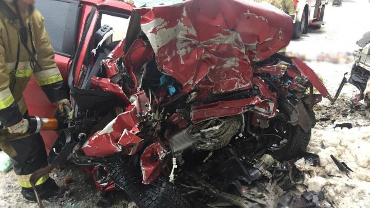 Многодетная семья из Прикамья погибла в ДТП в Удмуртии