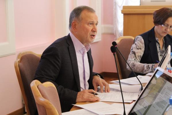 Юрий Федотов возглавляет финансово-бюджетный комитет в горсовете