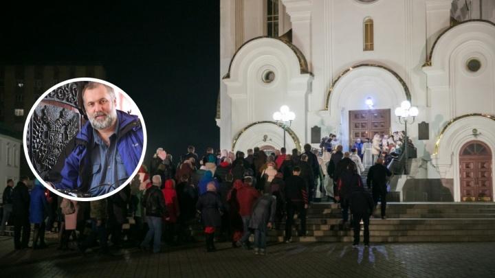 «Такова воля Создателя»: фотограф объяснил стремление верующих ходить в храмы и обвинил журналистов в невежестве