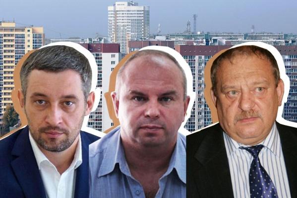 В составе учредителей и директоров крупнейших управляющий компаний Екатеринбурга одни и те же лица