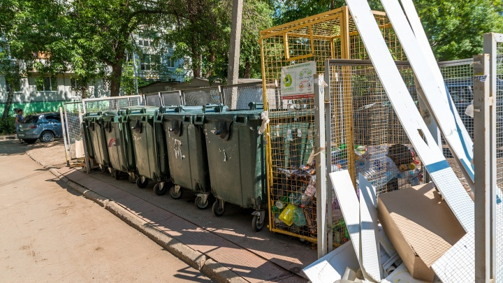Защитят мусор от дождя: в Самаре приведут в порядок контейнерные площадки