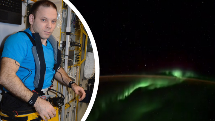 Космические гости? Уроженец Североонежска Иван Вагнер заснял с МКС пять неопознанных объектов