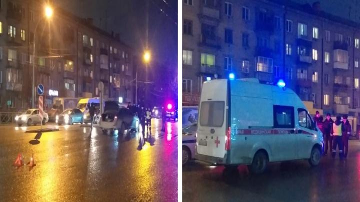 В Ленинском районе автомобиль насмерть сбил мужчину