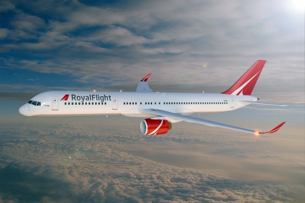 Royal Fliight получила допуск на полеты из Челябинска в Египет