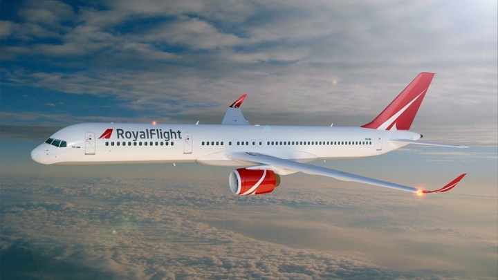 Авиакомпания Royal Flight получила допуск на рейсы из Челябинска в Каир