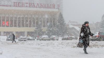 На Самарскую область надвигается сильный снегопад