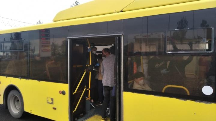«Какая дистанция при таком столпотворении?»: волгоградцы жалуются на забитые в час пик автобусы