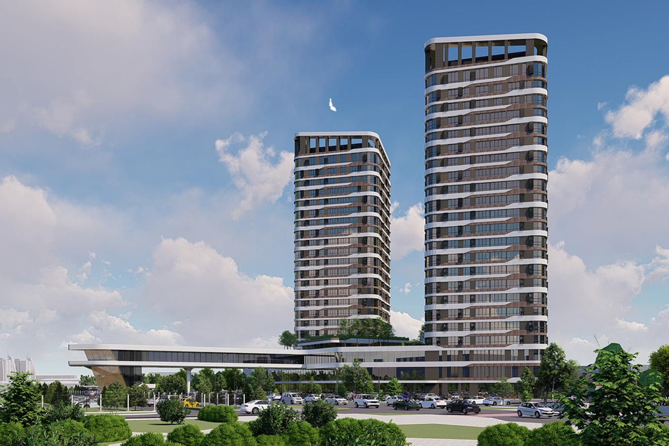 В башнях будет 432 квартиры