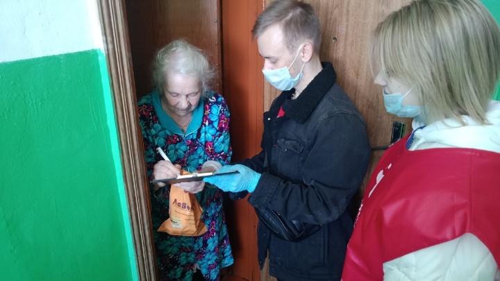 В Зауралье волонтеры снова будут помогать пенсионерам с покупкой продуктов и лекарств