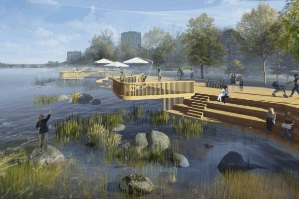 Работы на втором участке набережной должны быть завершены к октябрю 2020 года