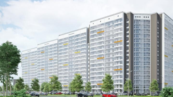 Стартовали продажи квартир в новом доме с торговым центром и паркингом от группы компаний ПЗСП