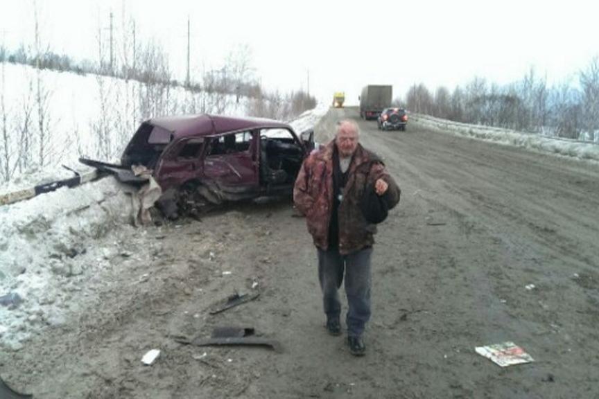 Для водителя «Нивы» это была не первая серьёзная авария