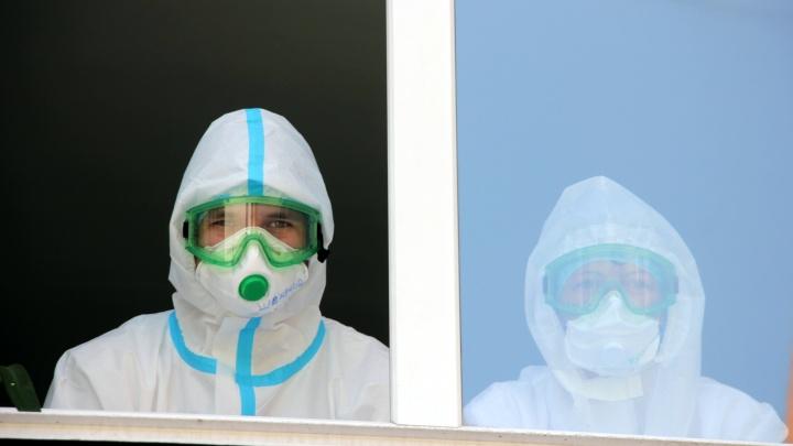 Омская область вышла на пик заболеваемости коронавирусной инфекцией