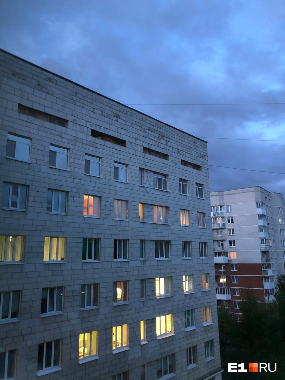 Немного вида из окна госпиталя