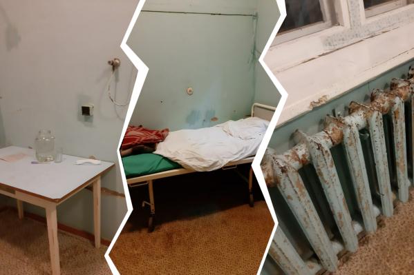 Муж пациентки остался недоволен и врачами, и состоянием палаты в отделении, куда попала его супруга