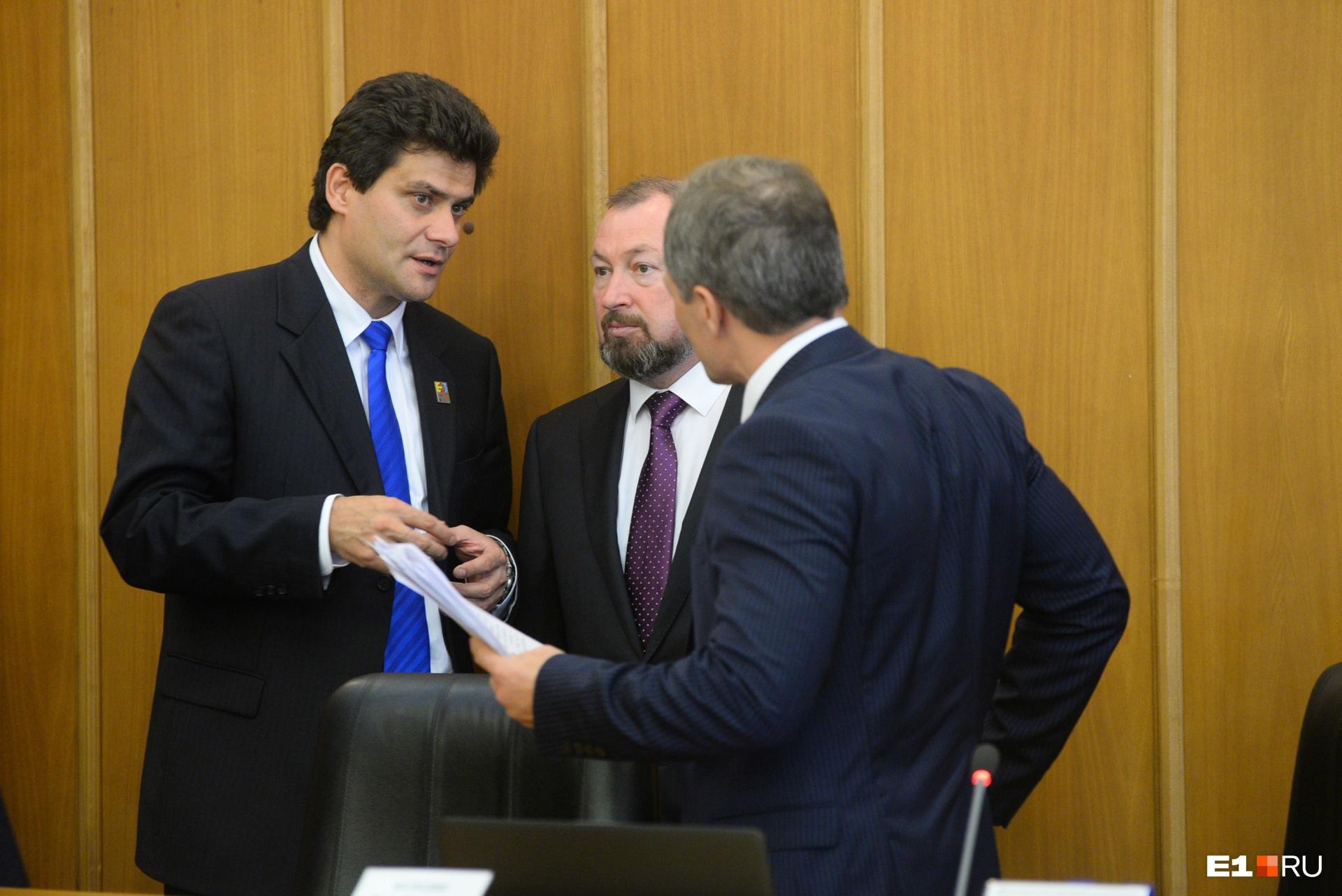 Мэр Екатеринбурга Александр Высокинский возглавил градсовет, чтобы «искать компромиссы» и «примирять противоборствующие стороны»