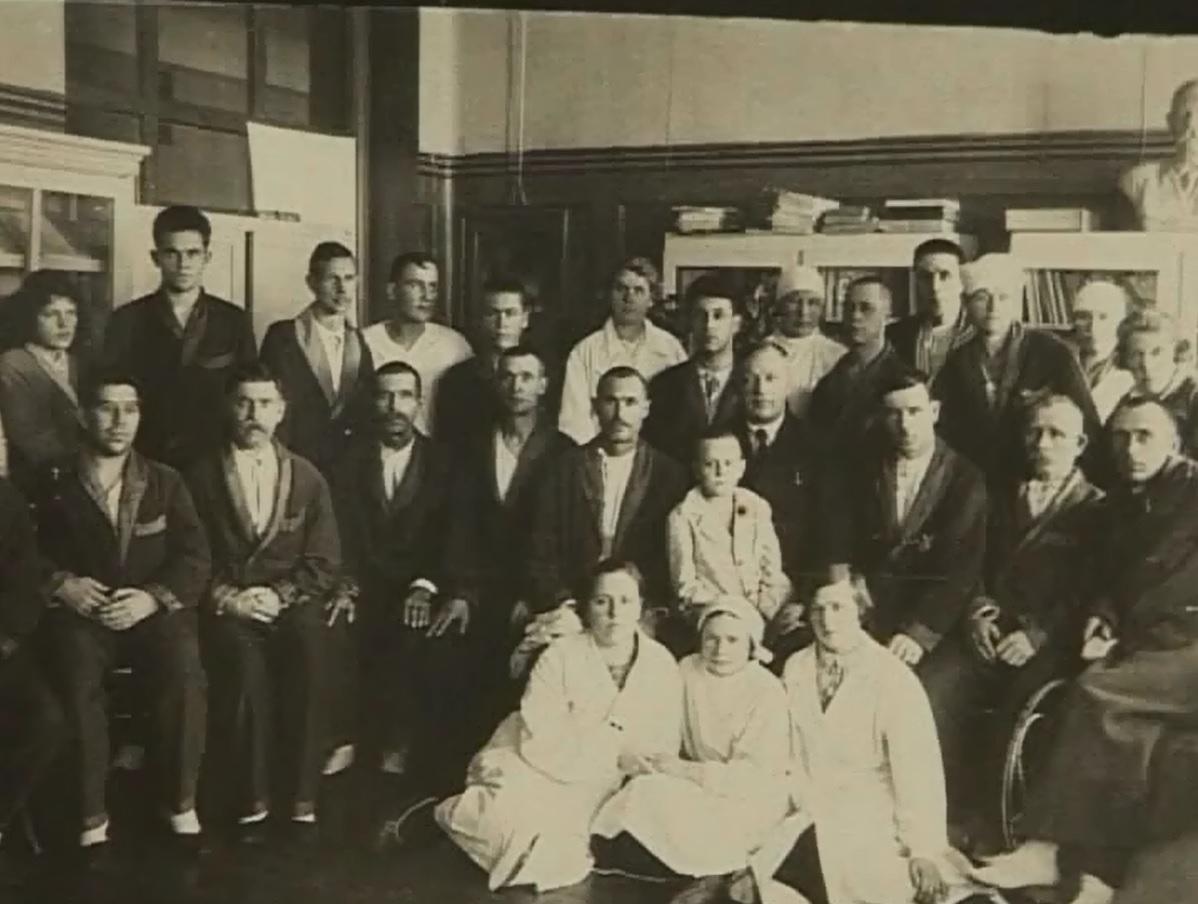 Сотрудники больницы