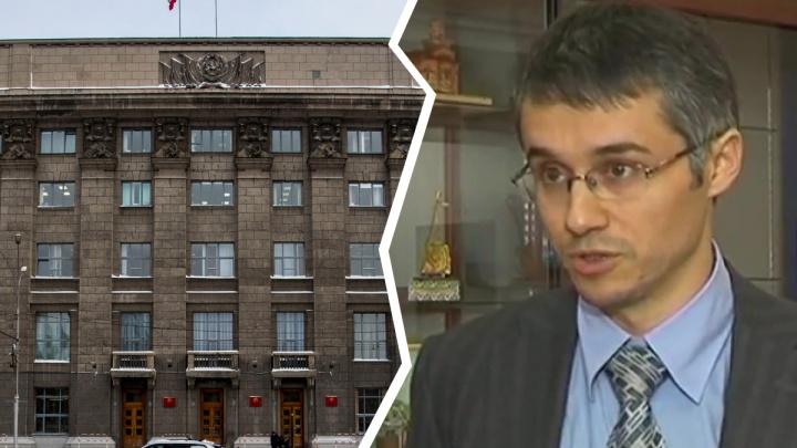 В Новосибирске задержали экс-начальника правового управления мэрии