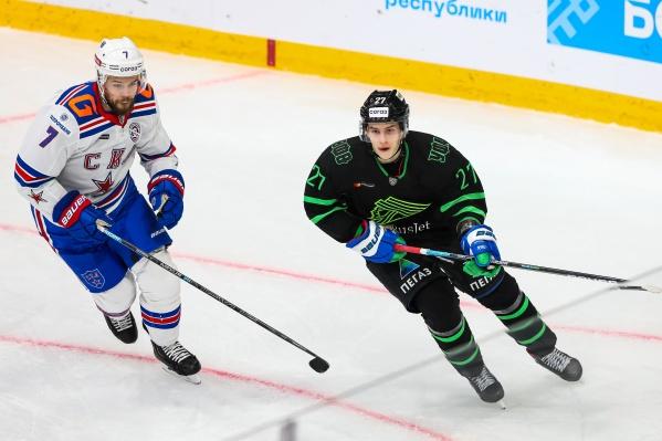 Родион Амиров забросил свою пятую шайбу в сезоне