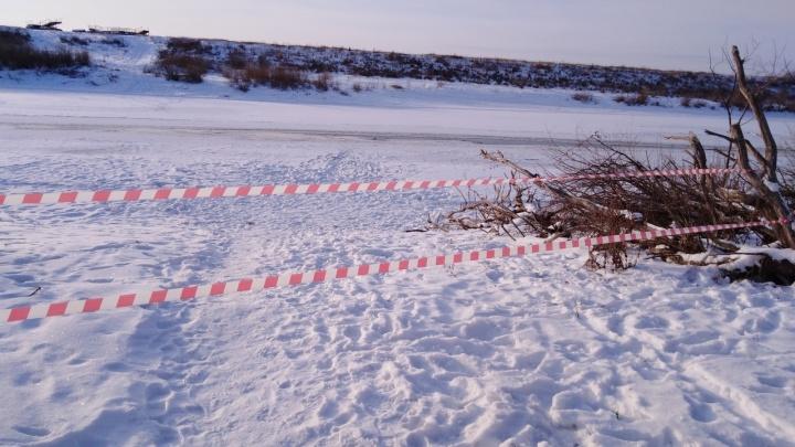 В Ишиме под лед провалился подросток