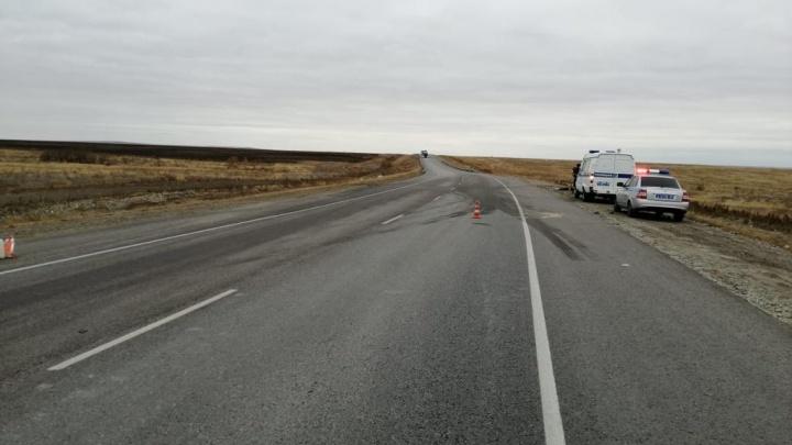 В ночном ДТП на федеральной трассе разбились насмерть двое 20-летних парней