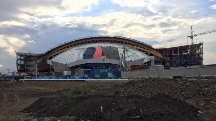 Власти рассказали о строительстве Ледового дворца в Кемерово. Там не всё идет по плану